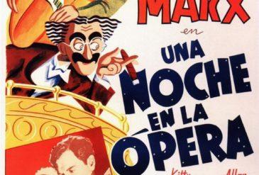 Proyección : Una noche en la opéra